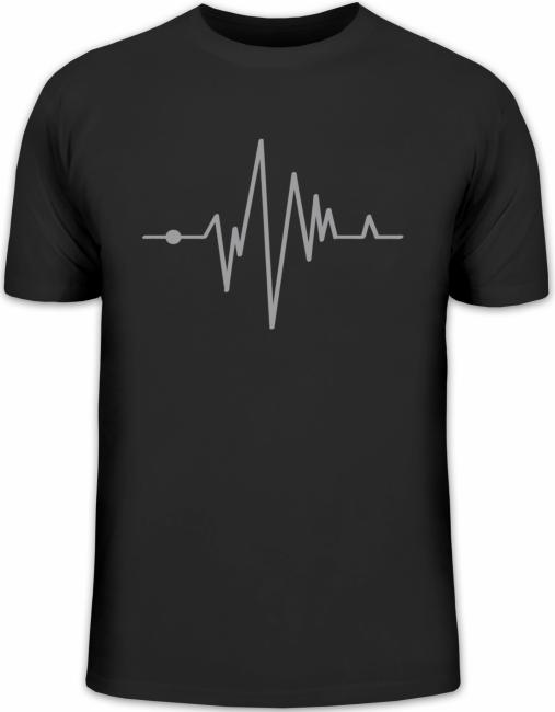 Shirtstreet24, Frequenz HEART BEAT Fun Shirt Fun Shirts