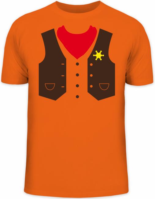 Shirtstreet24-Fasching-Cowboy-Kostuem-Karneval-Herren-Fun-T-Shirt-Funshirt